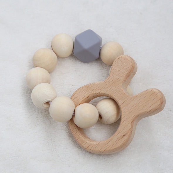 Baby Wooden Toy String Beads - Brambler Boutique