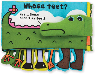Whose Feet? - Soft Activity Book - Brambler Boutique