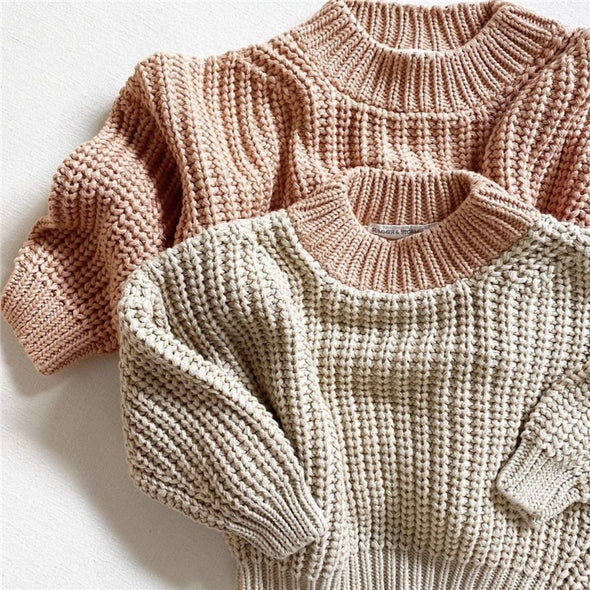 Chunky Knitted Cardigan Sweater - Brambler Boutique
