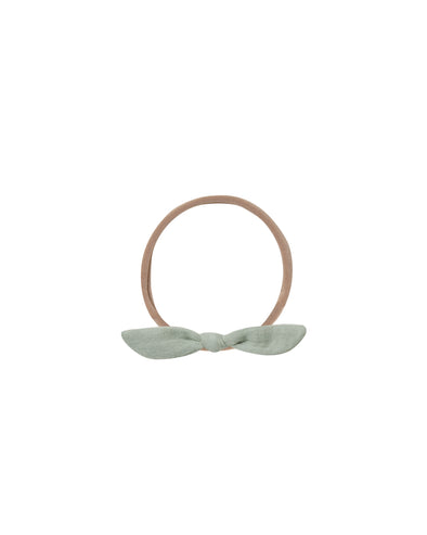 Knotted Headband - Seafoam - Brambler Boutique