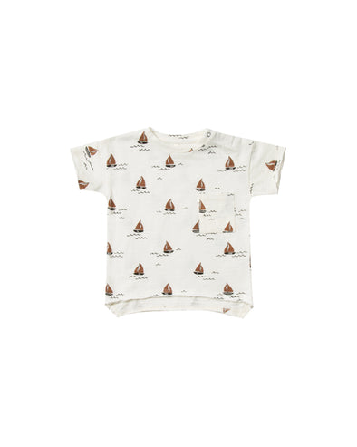 T-Shirt - Sailboat - Brambler Boutique