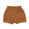 Organic Terry Shorts - The Story - Glazed Ginger - Brambler Boutique