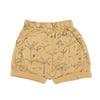 Organic Terry Shorts - The Story - Ochre - Brambler Boutique