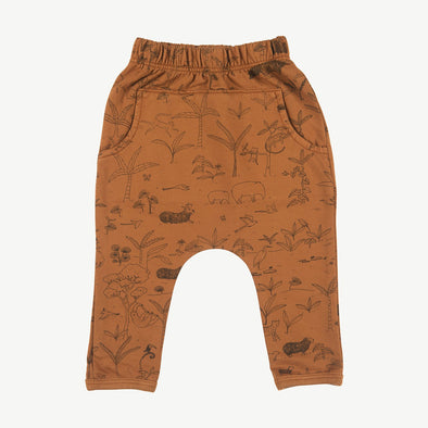 Organic Terry Jogger - The Story - Glazed Ginger - Brambler Boutique