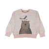 Organic Knitted Sweater - Best Buddies - Brambler Boutique