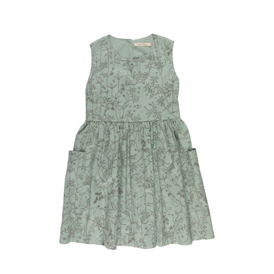 Organic Pocket Dress - The Canopy - Jadeite - Brambler Boutique