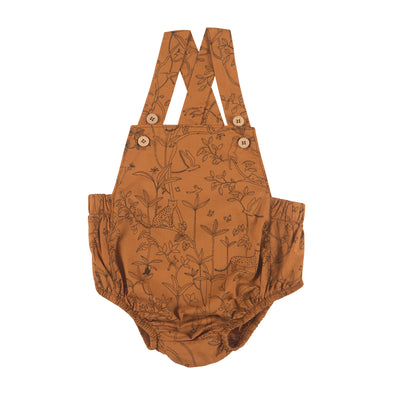 Organic Woven Overalls - The Canopy - Glazed Ginger - Brambler Boutique