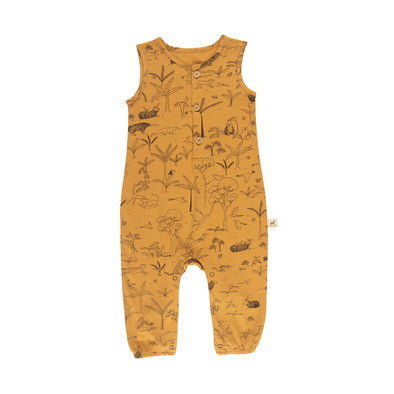 Organic Tank Baby Jumpsuit - The Story - Brambler Boutique