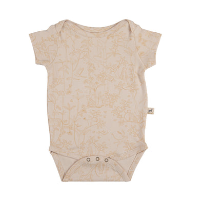 Organic Onesie - The Canopy - Pink - Brambler Boutique