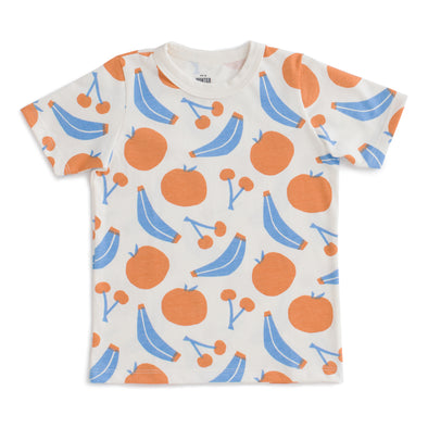 Organic T-Shirt -  Yummy Fruit - Brambler Boutique