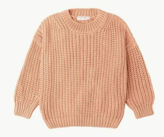 Chunky Cotton Knitted Sweater - Brambler Boutique