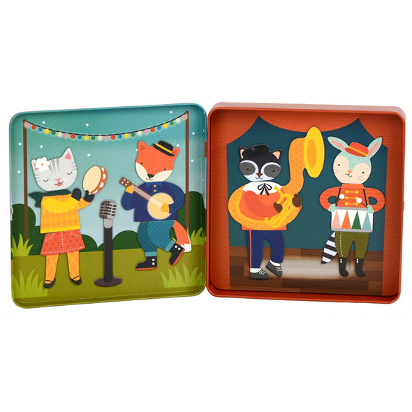 Animal Band On-The-Go Magnetic Play Set - Brambler Boutique