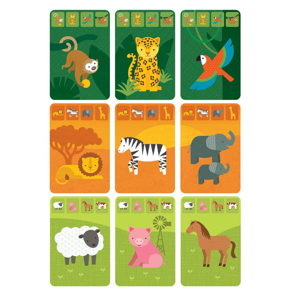 Animal Kingdom Card Game in a Tin - Brambler Boutique