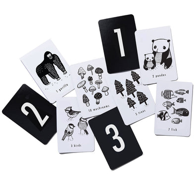 Art Flash Cards - Nature Numbers - Brambler Boutique