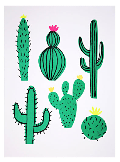 Art Prints - Can't Touch This Cactus - Brambler Boutique