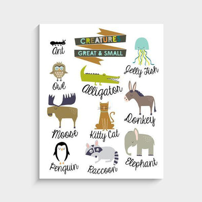 Art Prints - Creatures Great & Small - Brambler Boutique