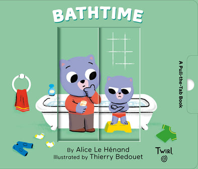 Bathtime: A Pull-the-Tab Book - Brambler Boutique