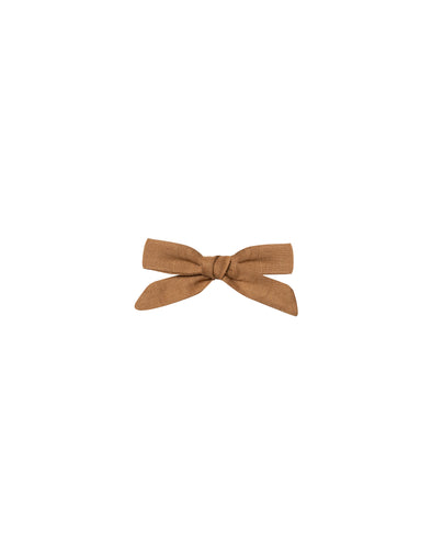 Bow Clip - Bronze - Brambler Boutique