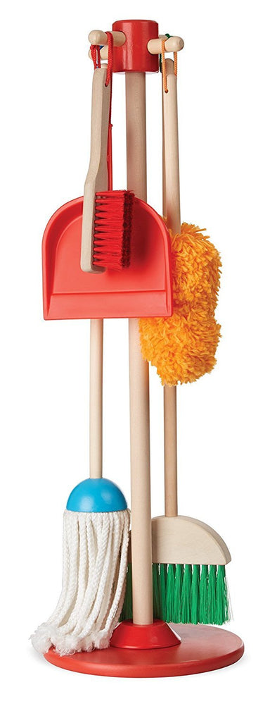 Dust, Sweep, & Mop! Play Cleaning Set - Brambler Boutique