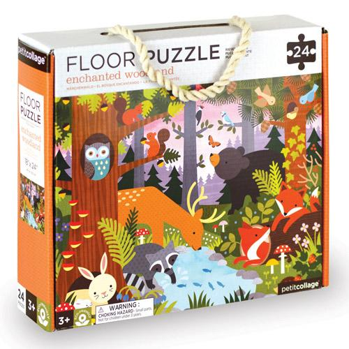 Enchanted Woodland Animals Floor Puzzle - Brambler Boutique
