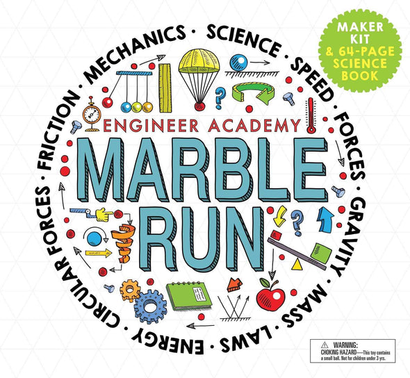 Engineer Academy: Marble Run - Brambler Boutique