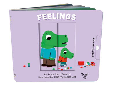 Feelings: A Pull-the-Tab Book - Brambler Boutique