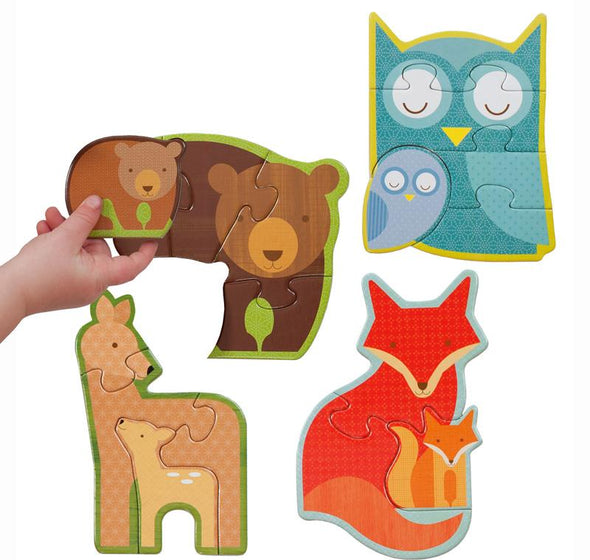 Forest Babies Toddler & Preschool Puzzle - Brambler Boutique
