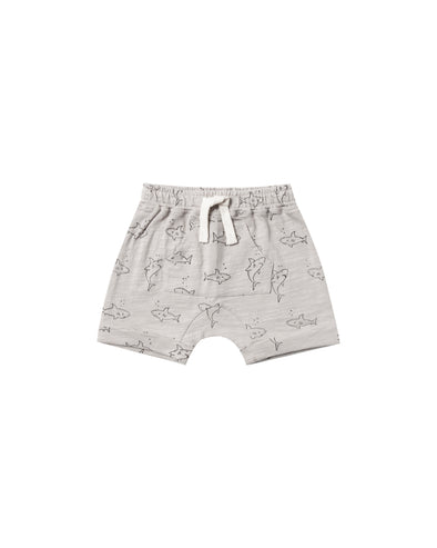 Front Pocket Shorts - Sharks - Brambler Boutique