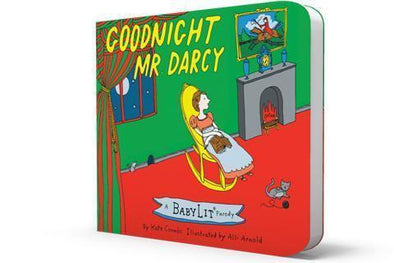 Goodnight Mr. Darcy: A BabyLit® Parody Board Book - Brambler Boutique