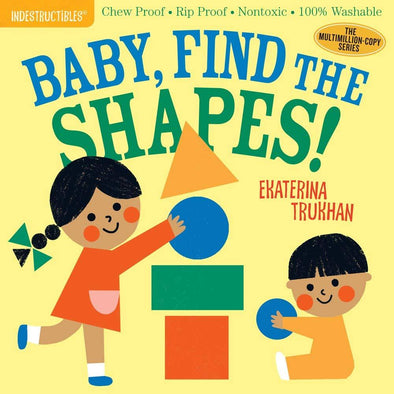 Indestructibles: Baby, Find the Shapes! - Brambler Boutique