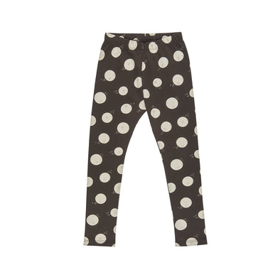 Leggings - Moon Faces - Coffee-Clothing-Red Caribou-0-3m-Brambler Boutique