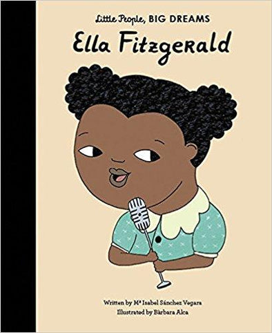 Little People, Big Dreams: Ella Fitzgerald - Brambler Boutique
