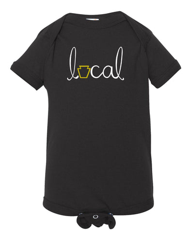 """Local"" Pittsburgh Onesie - Brambler Boutique"