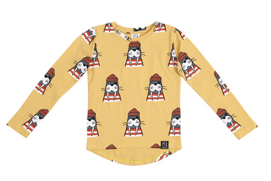 Long Sleeved Shirt -  Walrus - Brambler Boutique