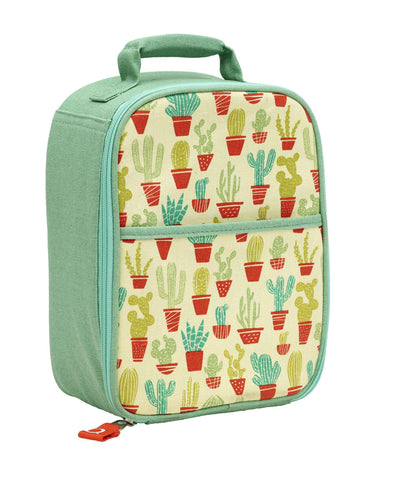Lunch Tote - Happy Cactus - Brambler Boutique