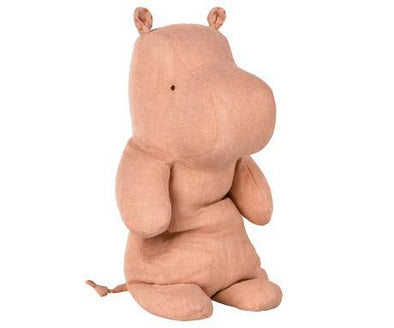 Maileg Medium Rose Hippo - Brambler Boutique