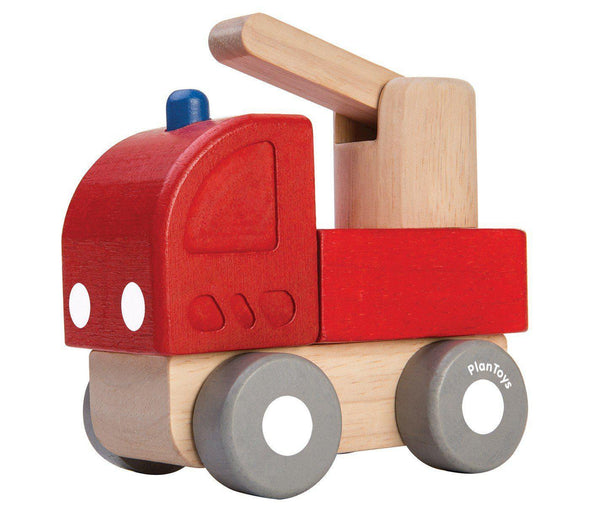 Mini Wooden Fire Engine - Brambler Boutique