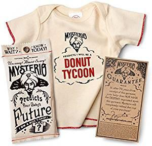 """Mysterio Predicts Your Baby's Future"" Shirts - Brambler Boutique"
