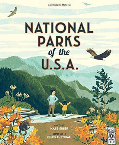 National Parks of the USA - Brambler Boutique