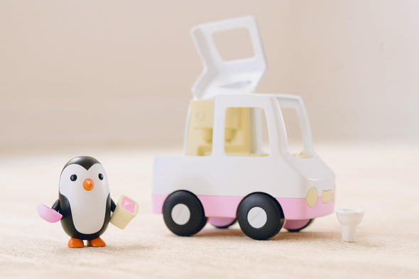 Neville's Ice Cream Truck Vehicle Playset - Brambler Boutique