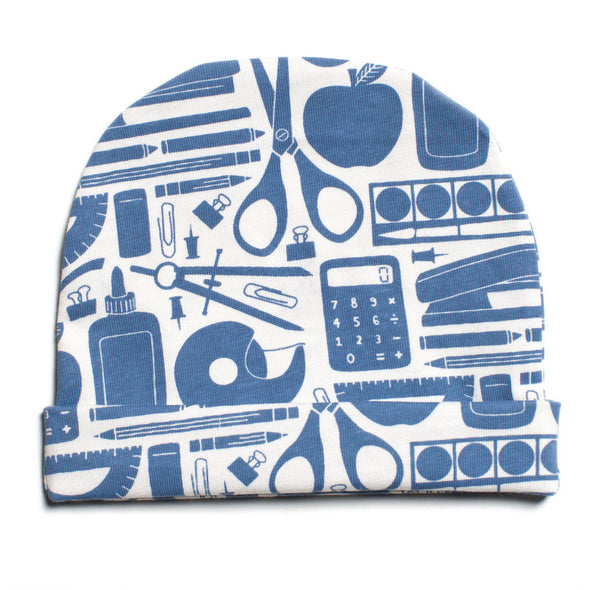 Organic Baby Beanie - School Supplies - Brambler Boutique