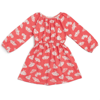 Organic Dress - Moths-Clothing-Winter Water Factory-2T-Brambler Boutique