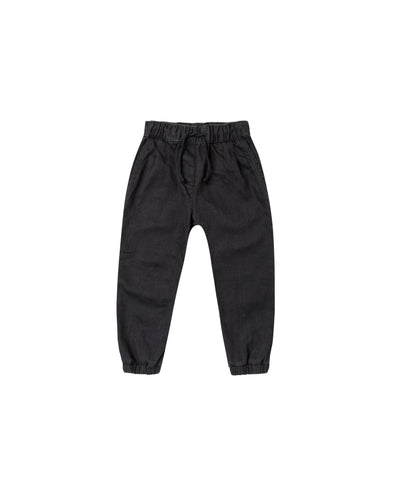 Pants - Black-Clothing-Rylee + Cru-2-3T-Brambler Boutique