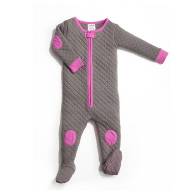 Sleepsie Quilted Footie Pajama - Brambler Boutique