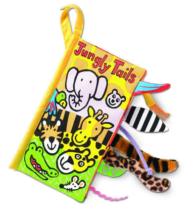 Soft Book - Jungly Tails - Brambler Boutique