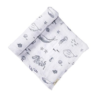 Swaddle - Life Aquatic - Brambler Boutique