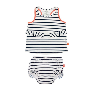 Swim Diaper - Tankini - Stripe - Brambler Boutique