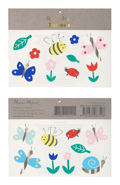 Tattoos - Bugs & Flowers - Brambler Boutique