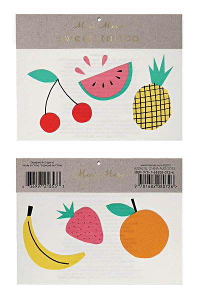 Tattoos - Fruit - Brambler Boutique