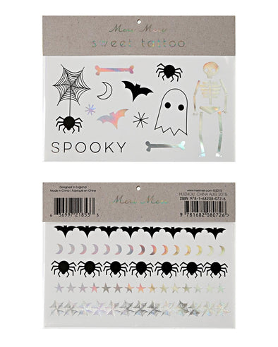 Tattoos - Halloween - Brambler Boutique